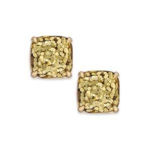 Kate Spade • Glitter & Glee Gold Earrings